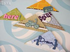 Corner bookmarks samples