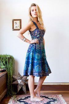 Mandala Wrap Dress