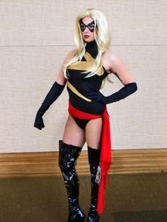 Ms. Marvel is one of those great looking characters that isnt as popular as she should be and shes been around for awhile. Looks and costume...