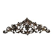 Floral Scroll Old World Wall Crown