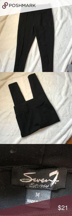 Seven7 Black Leggings Black Seven 7 leggings, size medium. Seven7 Pants Leggings