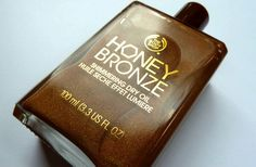 Review: The Body Shop - Honey Bronze Shimmering Dry Oil