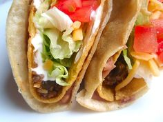 Taco Bell's Double Decker Tacos