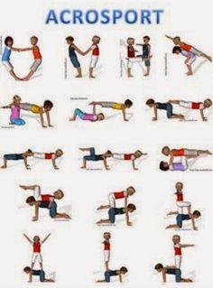 Gymnastics yoga poses for kids Gymnastics for children and healthy kids yoga set. Gymnastics 1 person yoga poses for kids. Yoga Girls, Kids Yoga Poses, Yoga For Kids, Partner Yoga, Chico Yoga, Wall Workout, Pilates Instructor, Yoga Dance, Bikram Yoga