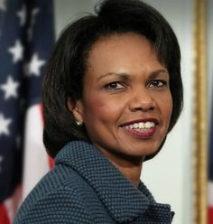 Condoleezza Rice was the first female African-American secretary of state, as well as the second African American (after Colin Powell), and the second woman (after Madeleine Albright). Rice was President Bush's National Security Advisor during his first term, making her the first woman to serve in that position.