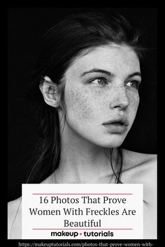 Gone are the days when freckles need concealers. More women with freckles have learned to flaunt them. Click the pin to see images that prove they're awesome and beautiful. Face Reference, Photo Reference, Drawing Reference, Foto Portrait, Portrait Photography, Female Photography, Makeup Photography, Female Portrait, Side Portrait