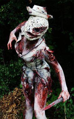 Silent Hill nurse. Classic.