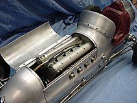 Original Bunch Speed Demon Tether Race Car Old Build From