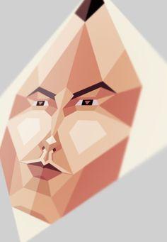 Polygon Face .