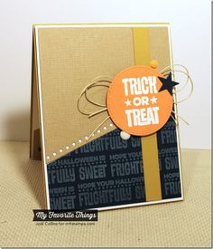 Cheesecloth Background, Spooky Sentiments, Blueprints 18 Die-namics - Jodi Collins #mftstamps