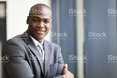 peaceful african american businessman royalty-free stock photo