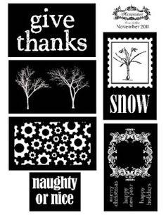 Photocentric: New November Stamp Negatives