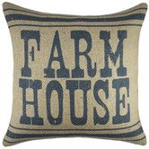 Lend a touch of country-chic appeal to your sofa, arm chair, or window seat with this charming handmade burlap pillow, showcasing a bold typographic motif. Country Farmhouse Decor, Country Chic, Country Living, Farmhouse Style, Farmhouse Ideas, Rustic Decor, Modern Farmhouse, Farmhouse Remodel, Rustic Cottage