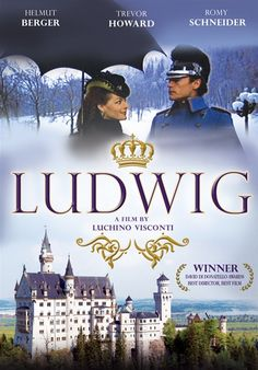 Ludwig (1972) Historical evocation of Ludwig, king of Bavaria, from his crowning in 1864 until his death in 1886, as a romantic hero. Set in the 19th century, the film follows the quirks of the eccentric Ludwig, who was so taken with German composer Richard Wagner's work that the sovereign became obsessed with building real-life fairy-tale castles in his kingdom. Helmut Berger, Romy Schneider, Trevor Howard...TS bio