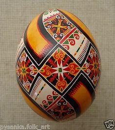 Ukrainian Pysanka by Oleh K, Chicken Easter egg Pysanky