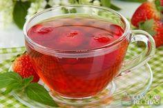 Receita de Chá mate com morango em receitas de bebidas e sucos, veja essa e outras receitas aqui!