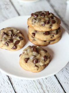 do-not-touch-my-food: Malted Chocolate Chip Cookies