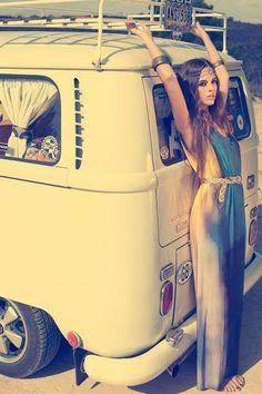 Boho chic. Photographer: Nicole Kotrbova for FashionTV