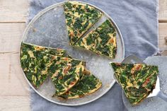 Spinazie-omelet - Recept - Allerhande