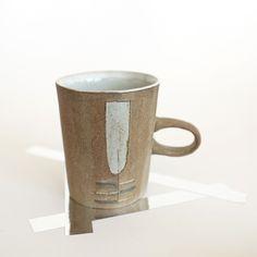 Image of Brown Slab Mug