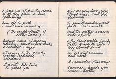 Design is fine. History is mine. — Jim Morrison, Paris Journal, written shortly...