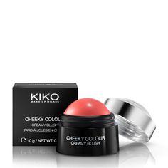 Fard à joues en Crème : Cheeky Colour Creamy Blush - KIKO Milano - 02 coral rose