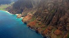 #USAMietwagTips: Napali Küste auf der Insel Kauai, Hawaii. Erlebt die traumhaften 4 hawaiianischen Inseln: Oahu, Kauai, Big Island, Maui auf einer 20-tägigen Rundreise mit dem #Mietwagen. #usamietwagentip [Foto:Pixabay]