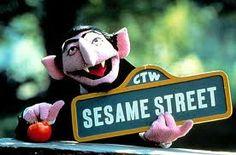 count dracula sesame street - Google zoeken.How i miss the show!!