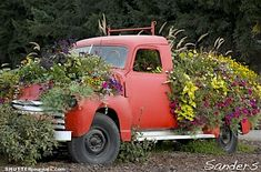 Sauvie Island flower truck