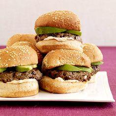 Black Bean Chili Burgers - Vegan, sub veganaise