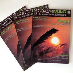 Fresco di stampa!!!  Amici e colleghi coach... leggetelo fa bene a voi e al vostro business!!!  #coachmag #thenewisborn #coaching #frescodistampa #coach #direttorefelice #natasciapane