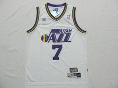 canotte nba poco prezzo Utah Jazz MARAVICH   7 bianco Utah Jazz d7cf88f9b2f0