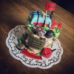 Pubg Cake Cakes In 2019 Cake Themed Cakes Birthday Cake