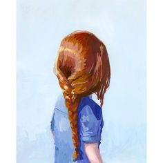 8x10 hair art  braid print  Braid 7 giclee by ElizabethMayville, $20.00