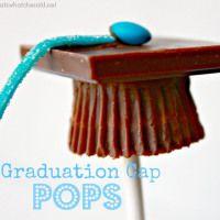 Graduation Cap Candy Pops
