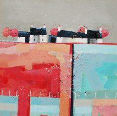 Scottish Artist Dionne SIEVEWRIGHT-Summer Cloud