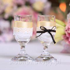 KIELISZKI do wódki Kolekcja Vintage 2 szt #slub #wesele #sklepslubny #slubnezakupy #dekoracje