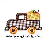 Pumpkin Truck for a boy shirt?