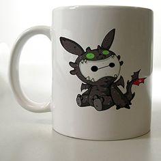 Chibi Baymax Toothless Cute Mug Two Side 11 Oz Ceramic Mug http://www.amazon.com/dp/B00VFHYYWW/ref=cm_sw_r_pi_dp_.Rljvb1YXSN9S