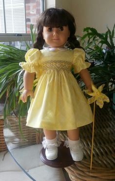 When you have scraps make a doll dress.