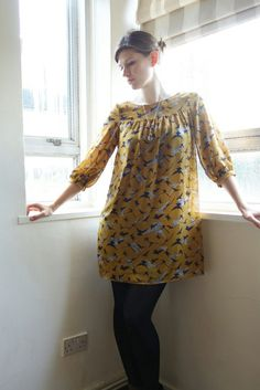 Mathilde dress - love the gathers instead of the pleats.