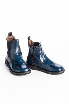 City Blue Short Boots