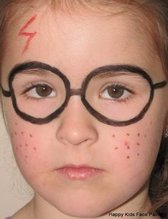 harry potter face painting - Google Search