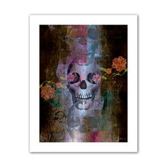 @Overstock.com - Greg Simanson 'Skull' Unwrapped Canvas - Artist: Greg SimansonTitle: SkullProduct type: Unwrapped canvas  http://www.overstock.com/Home-Garden/Greg-Simanson-Skull-Unwrapped-Canvas/8009768/product.html?CID=214117 $28.24