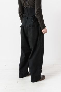 high waisted adjustable wide leg trouser — re. porter