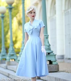 Rita - Marilyn Monroe dress with bow