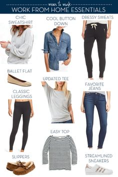 Work from Home Wardrobe Essentials - The Well Dressed Life - thewelldressedlife.com...