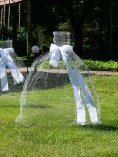 Outdoor wedding decoration idea
