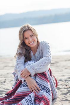 Vancouver WA Senior Portraits Beach Girl Photo Shoot