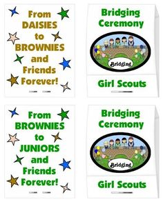 girl Scout - Bridging favor